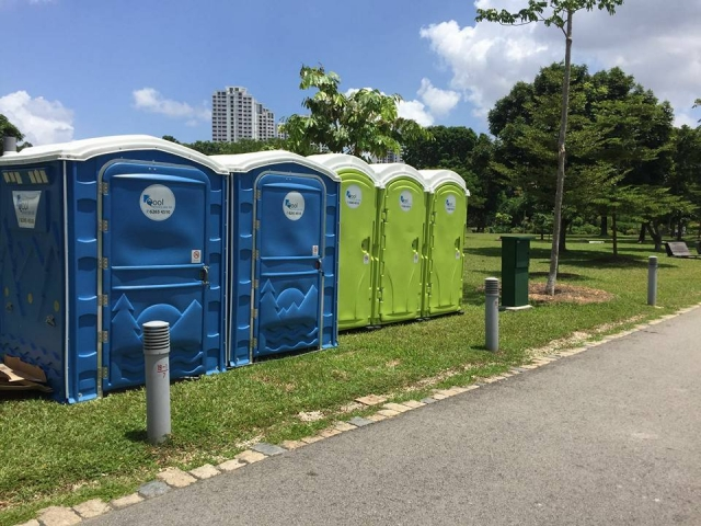portable toilets in dsa 20th anniversary kite flying family carnival 2016 2