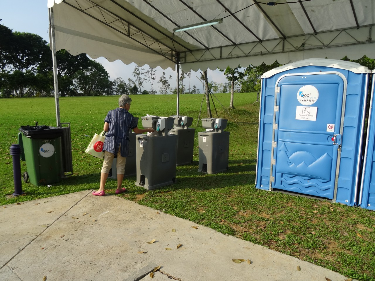 qool enviro portable toilet in moe celebrate sg50 7