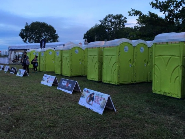qool enviro portable toilet in spartan race 8