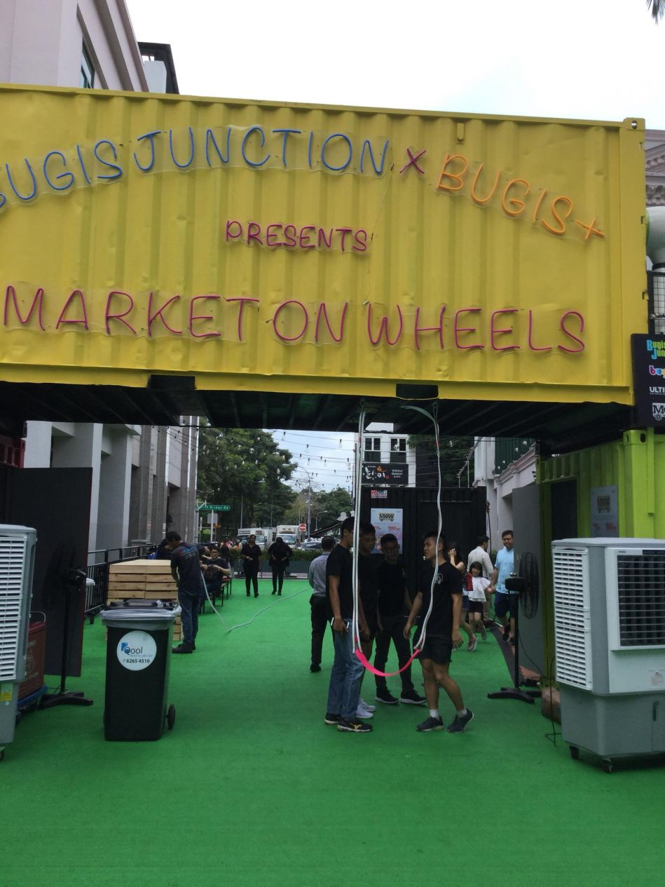 bugis plus market on wheels